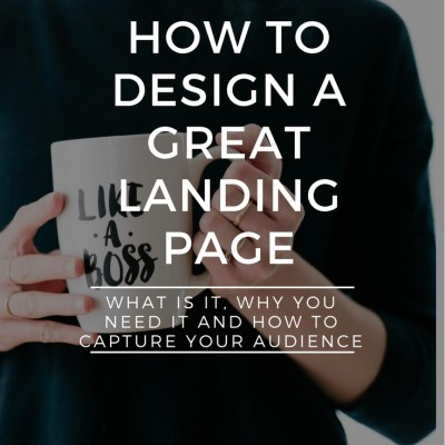 Elements of an Effective Landing Page Design