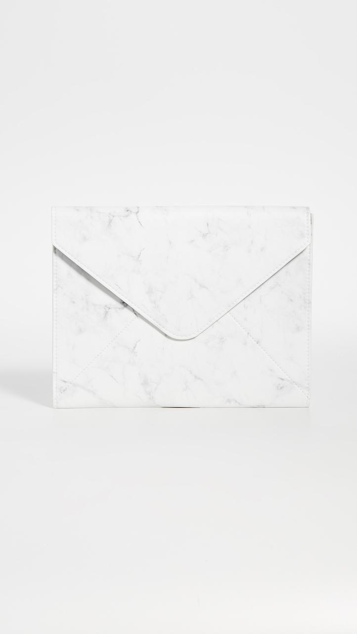 Skinnydip Marble Envelope Laptop Sleeve