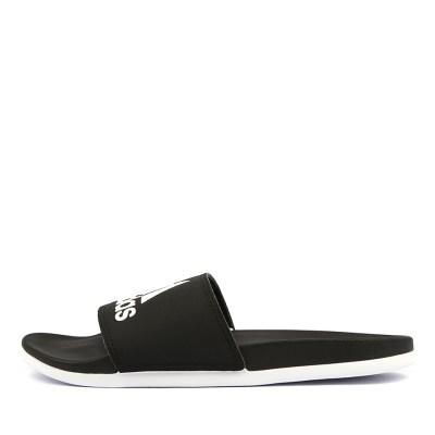 Adidas Adilette Comfort W Black White Sandals