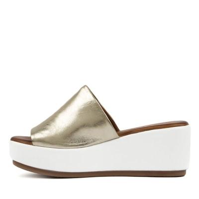 Alfie & Evie Jimmie Gold Sandals