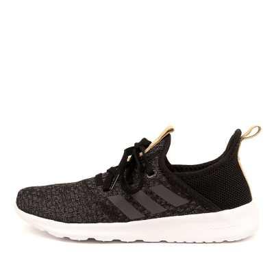 Adidas Neo Cloudfoam Pure Black Grey Sneakers