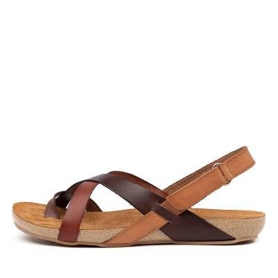 Beltrami Yazmine Be Brown Multi Sandals