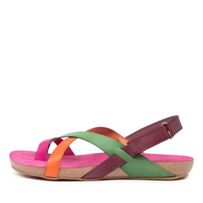 Beltrami Yazmine Be Pink Multi Sandals