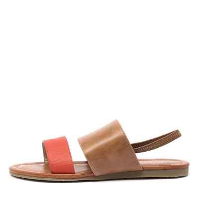 Bonbons Raddler Tan Multi Sandals