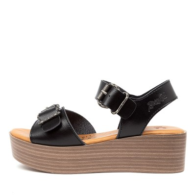 Blowfish Leeds Bw Black Sandals