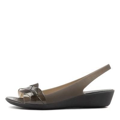 Crocs Isabella Slingback Black Black Shoes