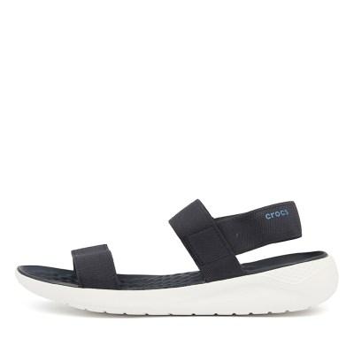 Crocs Literide Sandal Navy White Sandals