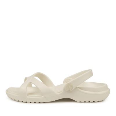 Crocs Meleen Crossband Sandal W Oyster Sandals