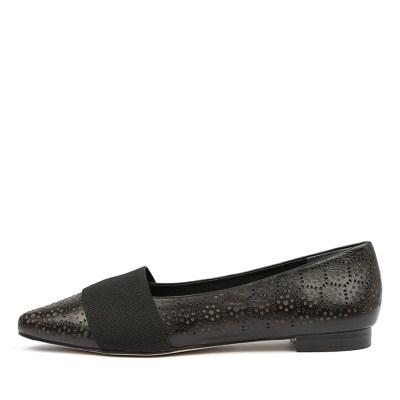 Diana Ferrari Carousel2 Black Shoes