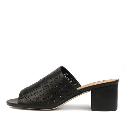 Diana Ferrari Arlette Black Sandals