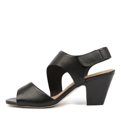 Diana Ferrari Quai Black Sandals