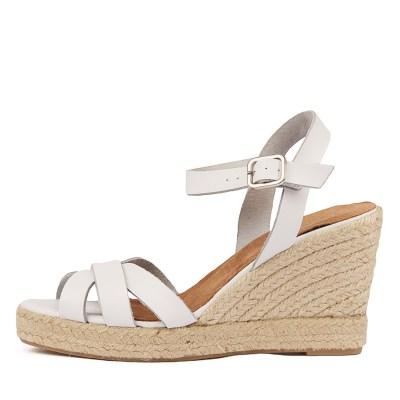 Diana Ferrari Starr Df White Sandals
