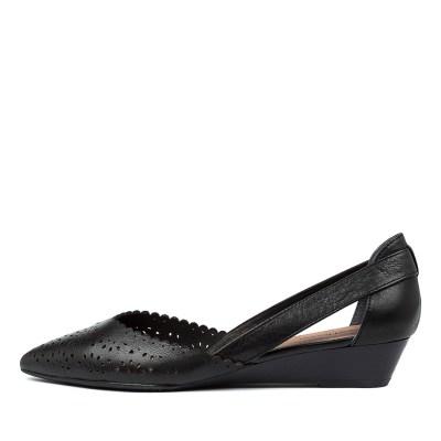 Diana Ferrari Presto Df Black E Shoes Womens Shoes Casual Flat Shoes