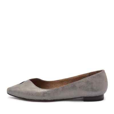 Diana Ferrari Cersai Washed Silver Shoes