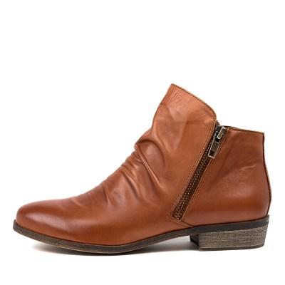 Django & Juliette Split Cognac Boots