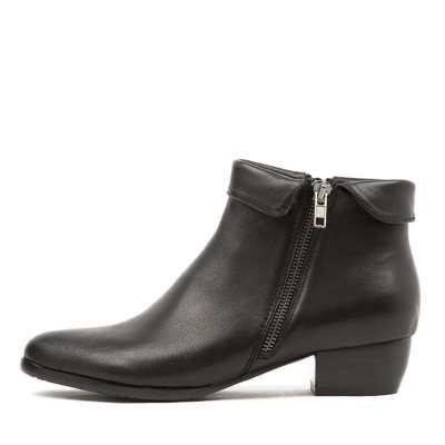 Django & Juliette Twinzip Black Boots