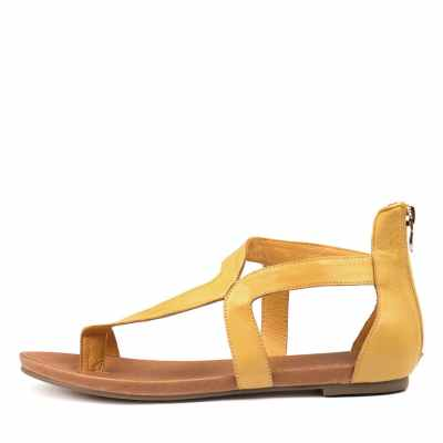 Django & Juliette Jackson Yellow Sandals