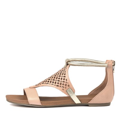 Django & Juliette Jimble Cantaloupe Pale Sandals