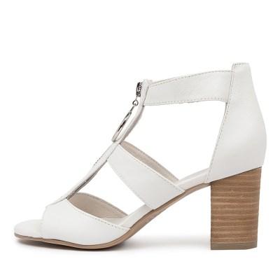 Django & Juliette Saritas White Sandals