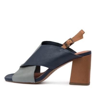 Django & Juliette Rudolf Dj Steel Navy Multi Sandals