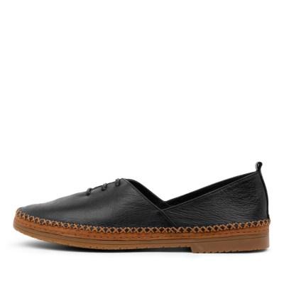 Django & Juliette Vunch Dj Black Shoes