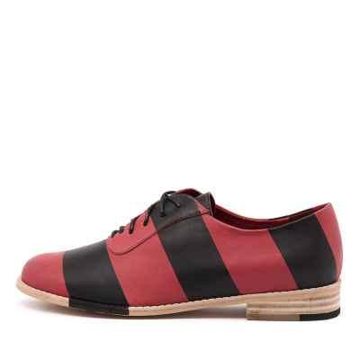 Django & Juliette Adonis Red Black Shoes