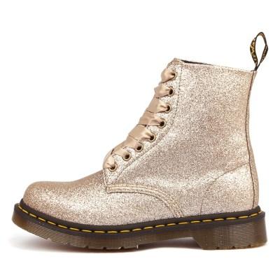 Dr Marten Pascal 8 Eye Boot Rose Gold Boots
