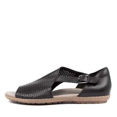 Earth Ballston Ea Black Sandals