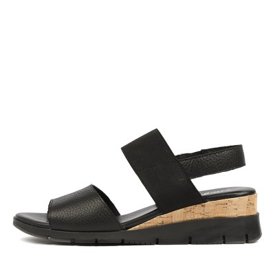 Effegie Basque W Black Sandals