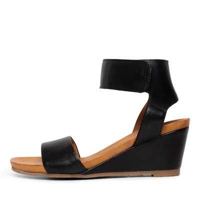 Effegie Emma2 W Black Sandals