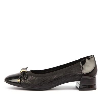 Geox D Chloo Mid C Black Shoes