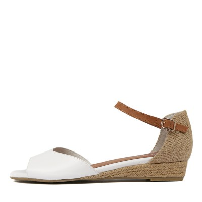 Gamins Cheryl White Sandals
