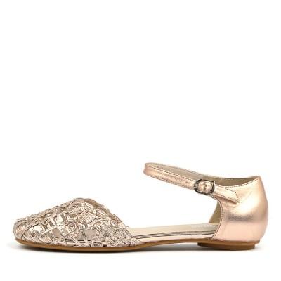 Gamins Esme Rose Gold Shoes