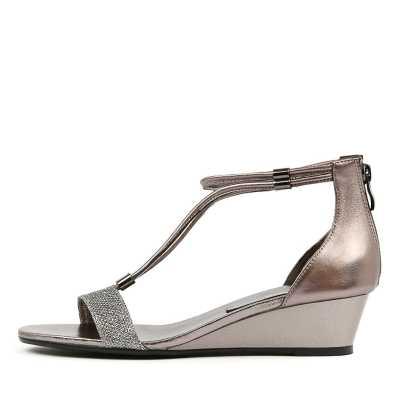 Gamins Karolyn Pewter Metallic Sandals