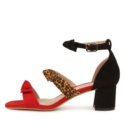 I Love Billy Pauletta Red Multi Sandals