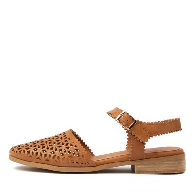 I Love Billy Quemata Tan Shoes