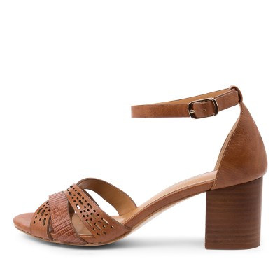I Love Billy Karrinyup Il Tan Sandals Womens Shoes Casual Heeled Sandals