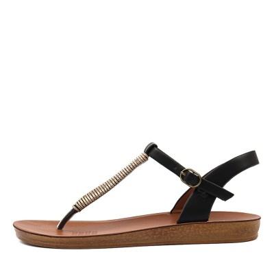 Los Cabos Breana W Black Sandals