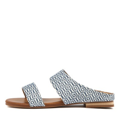 Los Cabos Molly W Blue Sandals