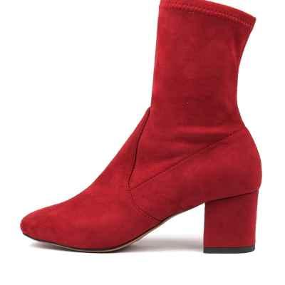 Mollini Careful Bright Red Boots