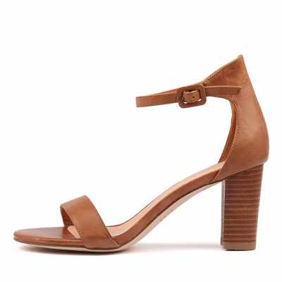 Mollini Gessie Tan Veneer Heel Sandals