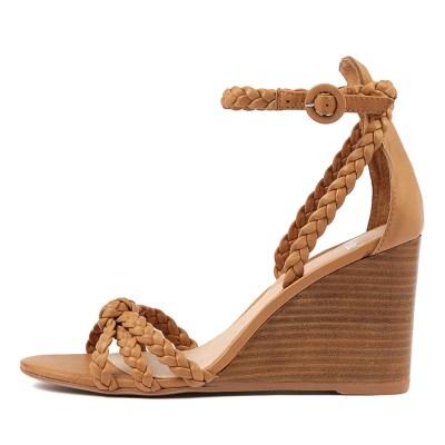 Mollini Emry Tan Natural Heel Sandals