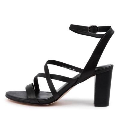 Mollini Georgi Mo Black Sandals