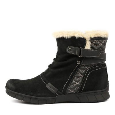 Planet Joffa Black Boots