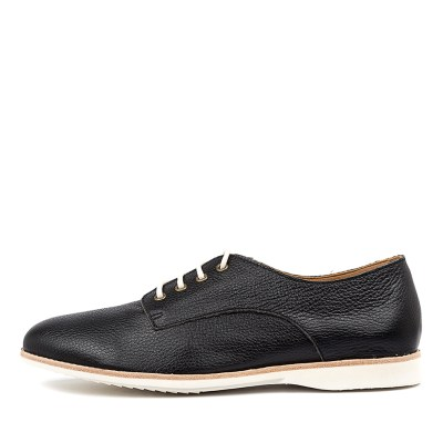 Rollie Derby Unlined Black Shoes