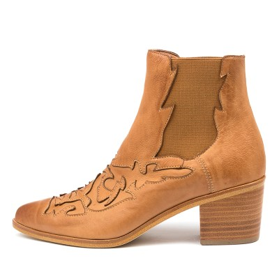 Silent D Effa Dk Tan Boots Womens Shoes Casual Ankle Boots