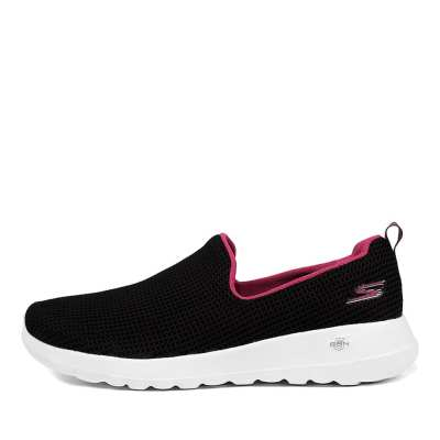 Skechers 15637 Go Walk Joy Black Pink Sneakers