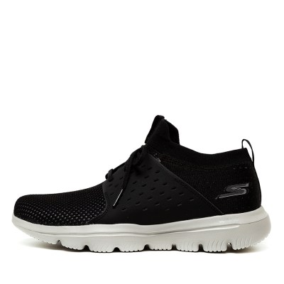 Skechers 15726 Go Walk Evolution Black Sneakers
