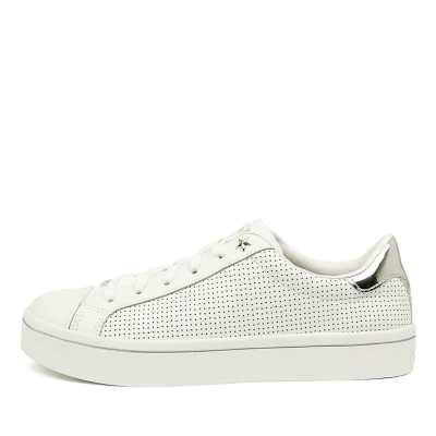 Skechers 925 Hi Lites Per Fect White Shoes Womens Shoes Casual Flat Shoes
