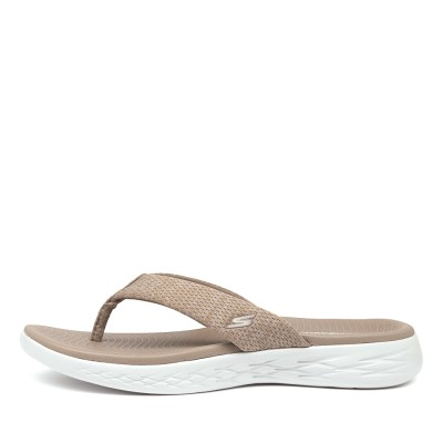 Skechers 15304 On The Go Preferred Taupe Sandals